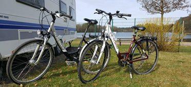 Neu: Fahrradverleih