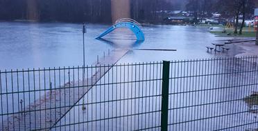 Hochwasser Postweiher