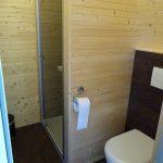 Bad, Dusche + WC