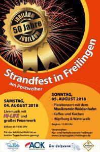 Flyer Strandfest